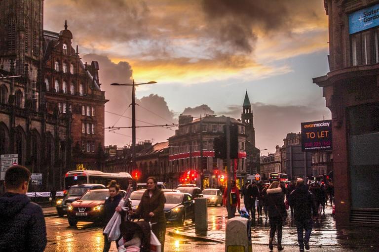 Edinburgh's Princes Street | © ddh Photos / Flickr