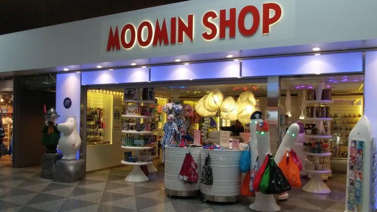 Moomin shop in Helsinki