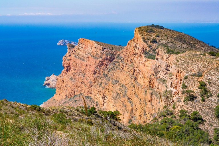 A view from Sierra Helada, Spain