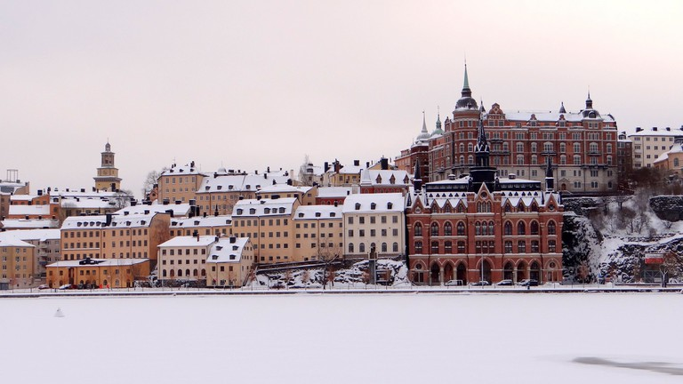 Stockholm in the Snow is stunning