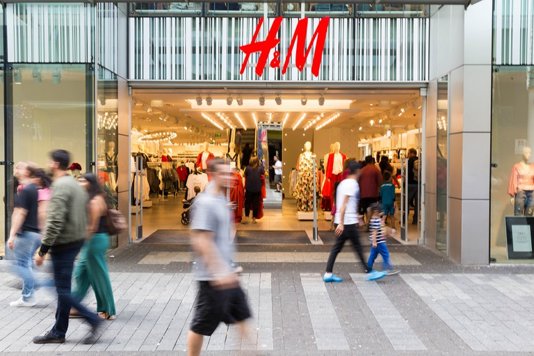 H&M is one of Sweden's most popular exports