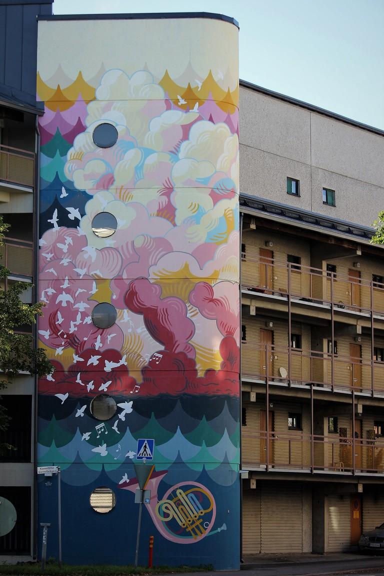 Kannelmäki mural