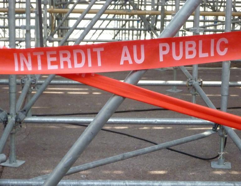Grand Prix railings