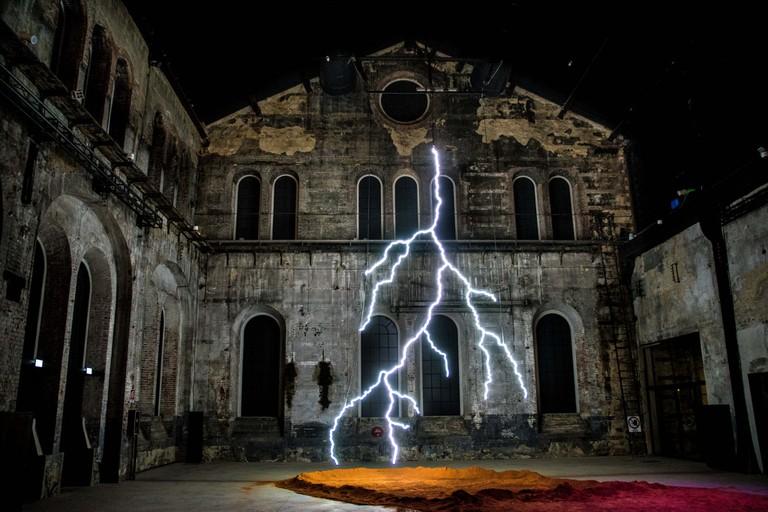 Patrick Tuttofuoco's installation Tutto infinito