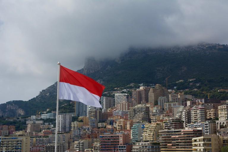 Monaco's flag