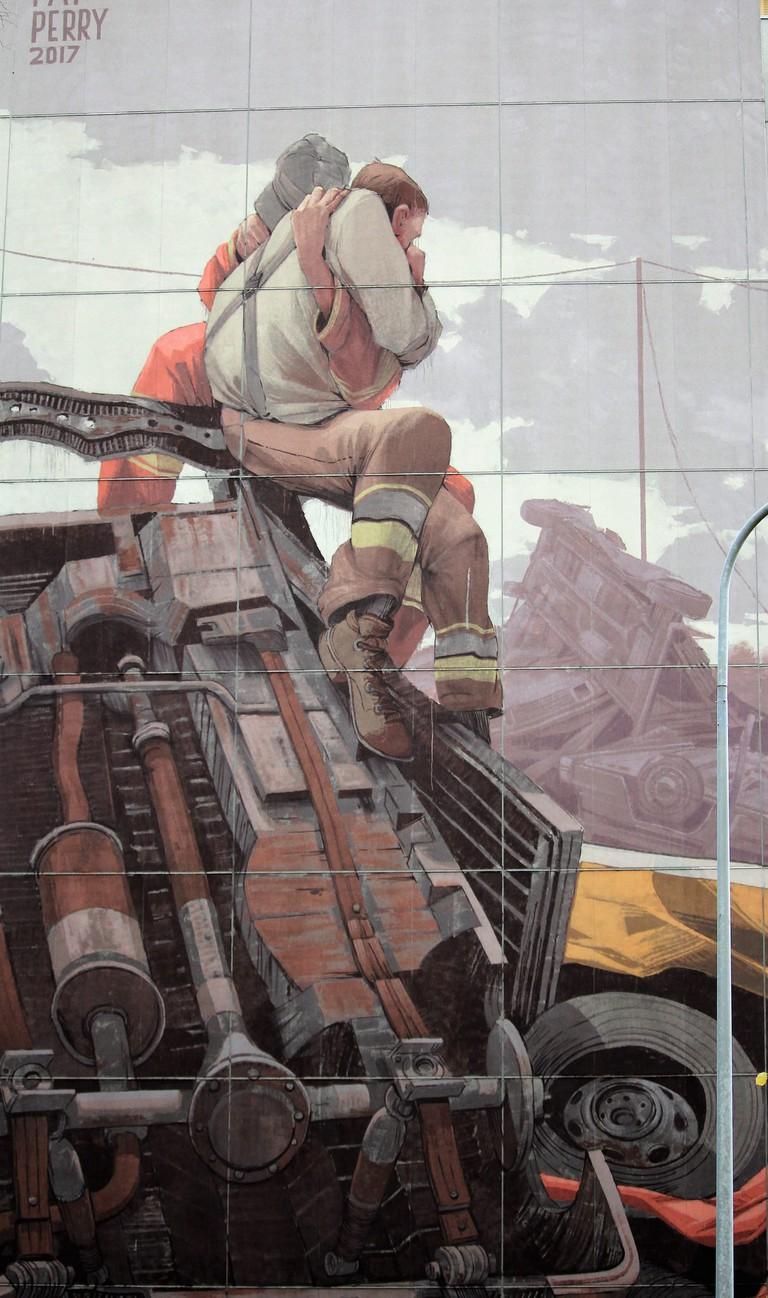 Mural in Kontula