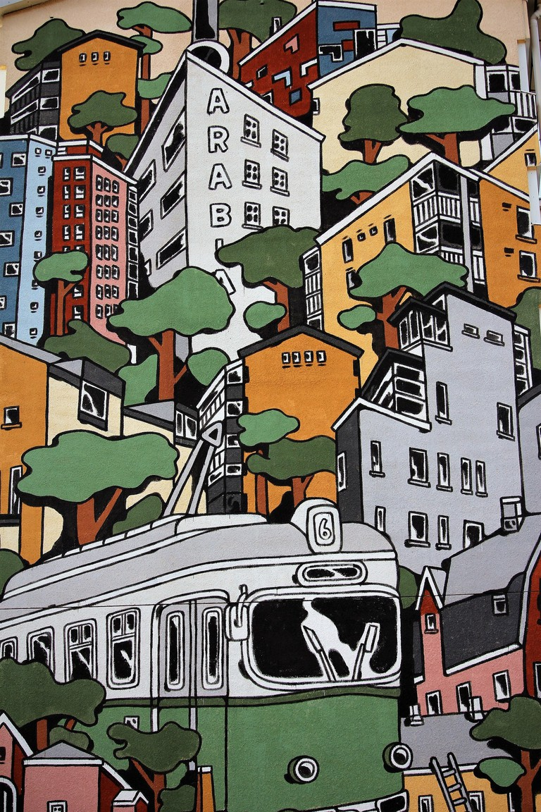 Jukka Hakanen mural
