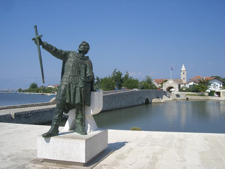Statue to Branimir, Nin | © Peter Collins/Flickr