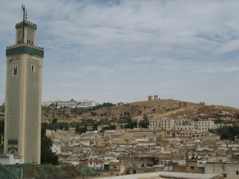 The ancient Kairaouine Mosque in Fez