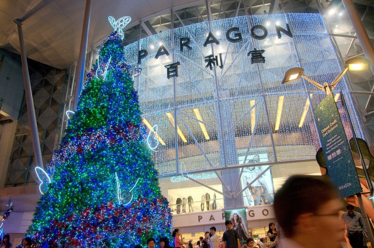 Shop to your heart's content at Orchard Road