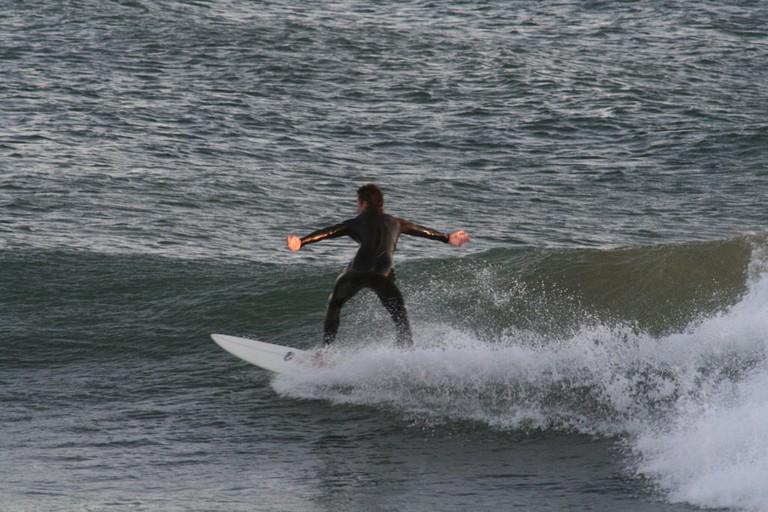 Surfer in Morocco