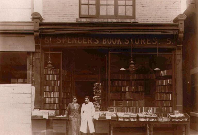 Spencer Aunts shop in Soton