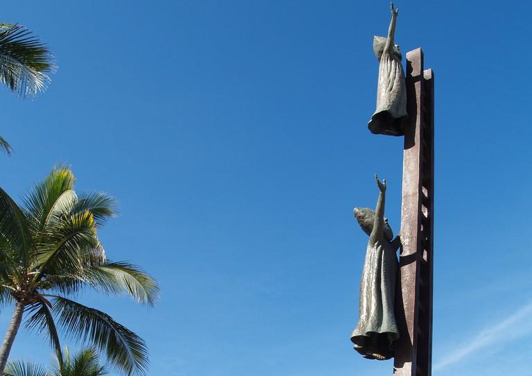 """En Busca de la Razón (""""In Search of Reason"""") sculpture"""