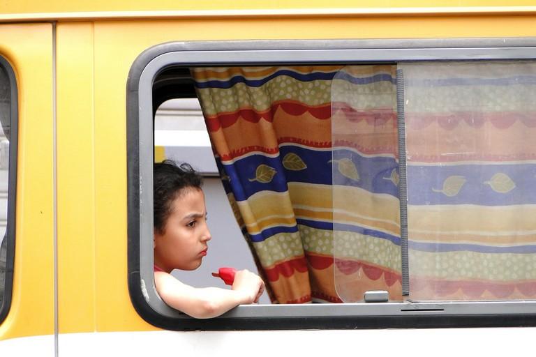 Moroccan bus