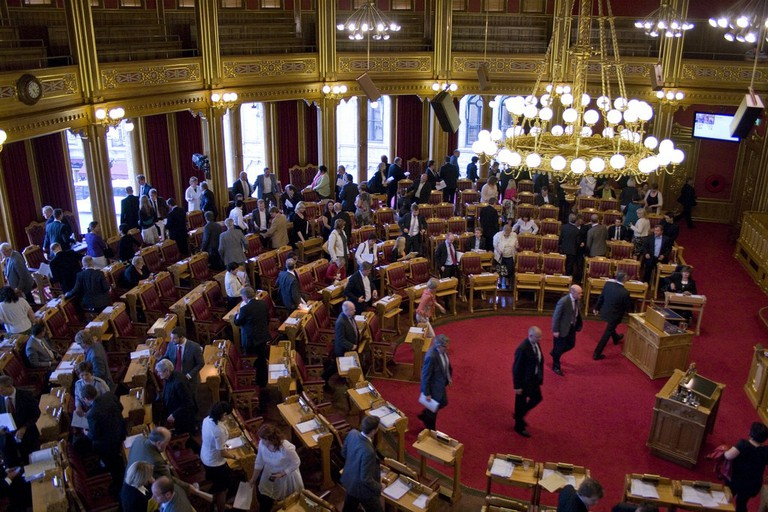 Stortinget on session | © Stortinget / Flickr