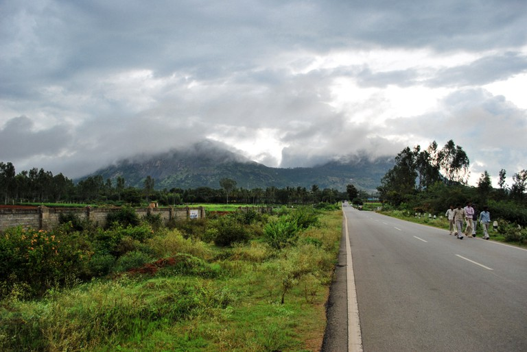 Nandi Hills is an obstruction-free running space