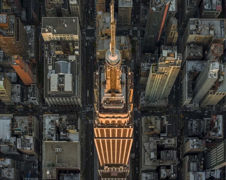 LA NY, New York: Empire State Building