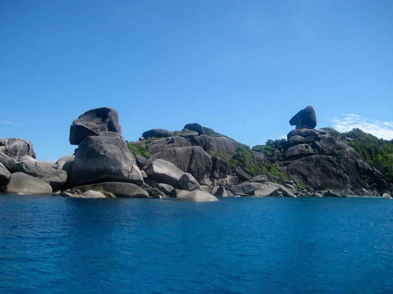 Landscape at Similan Islands
