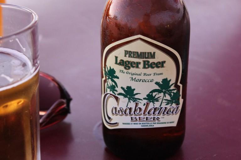 Moroccan beer