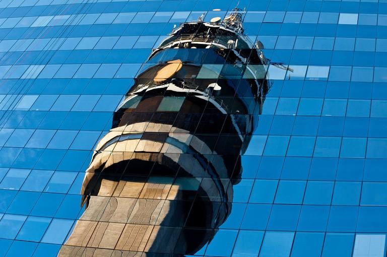 Entel Tower, Santiago, Chile
