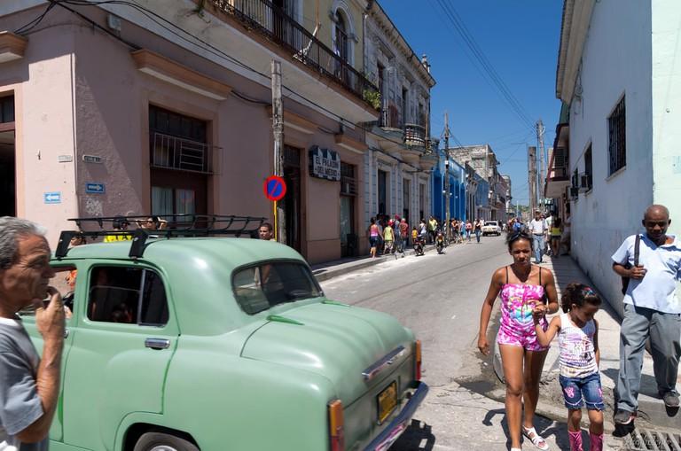 Streets of Matanzas, Cuba