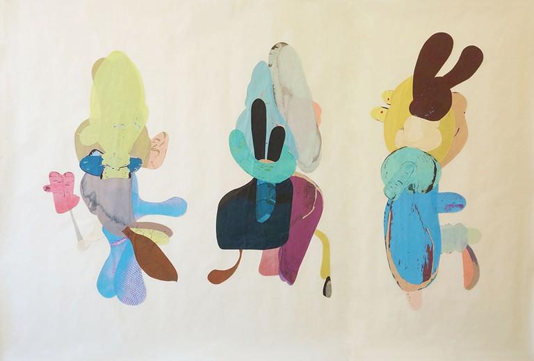 Katja Angeli, The Conspirators (II), 2016