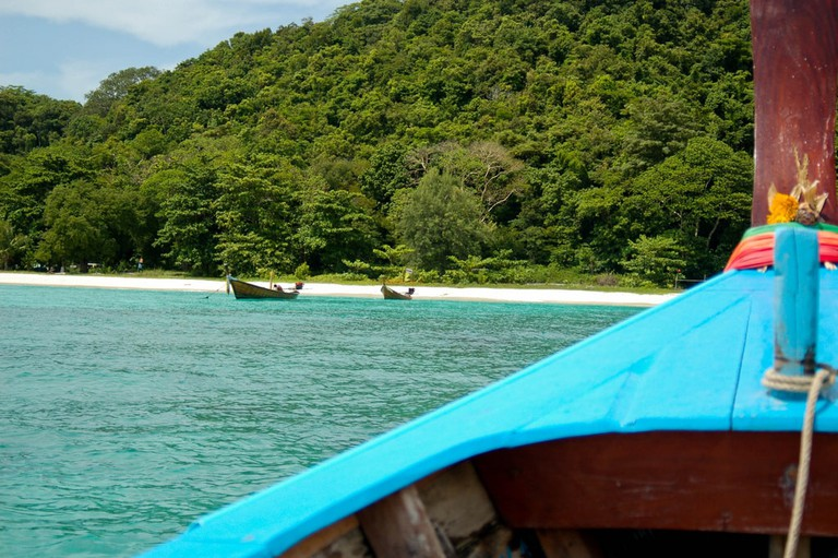 Approaching Coral Island