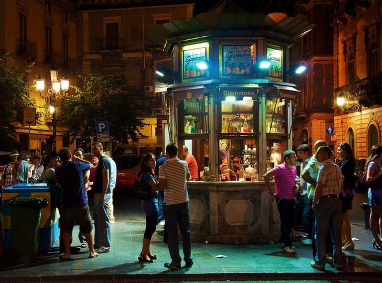 Chiosco, Catania