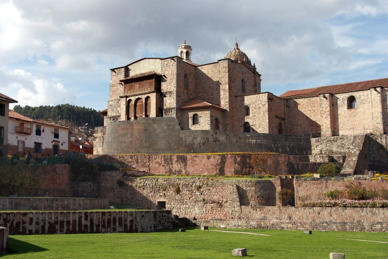 Coricancha, a major Incan temple