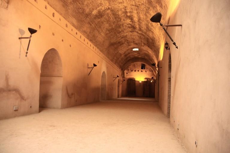 In Meknes's underground prison