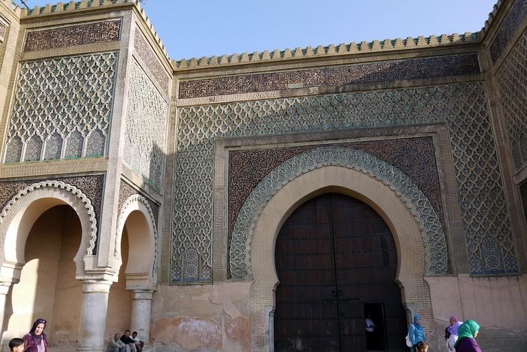Fabulous Bab Mansour in Meknes
