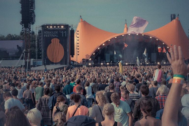 Roskilde, Orange Stage © Are Sjøberg / Flickr