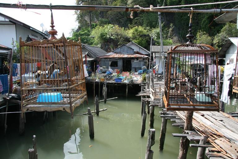 Floating village in Koh Panyi