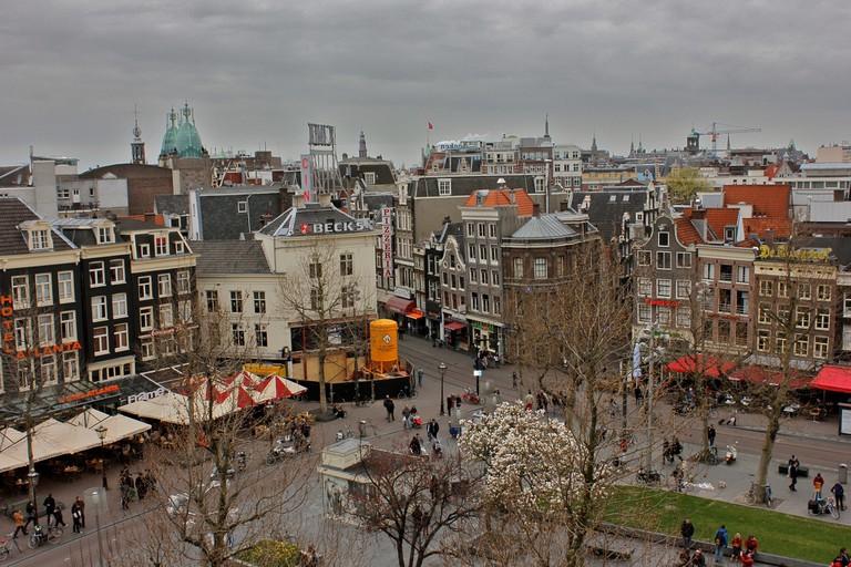 Rembrandtplein by day
