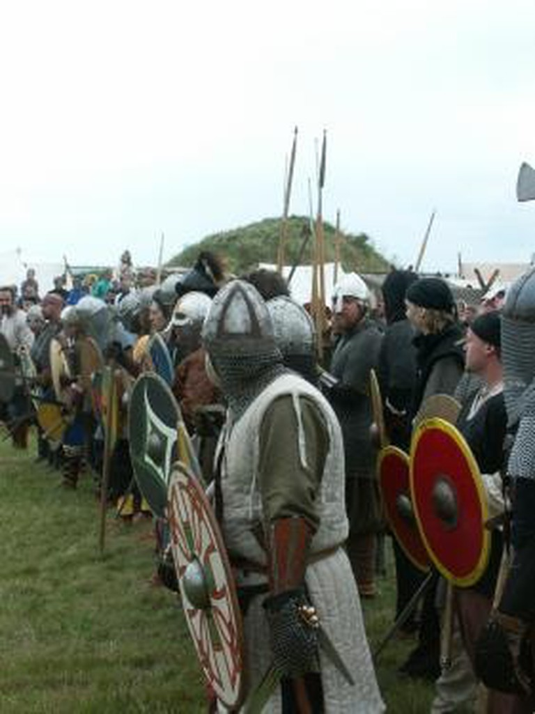 Recreationists at the Viking Market