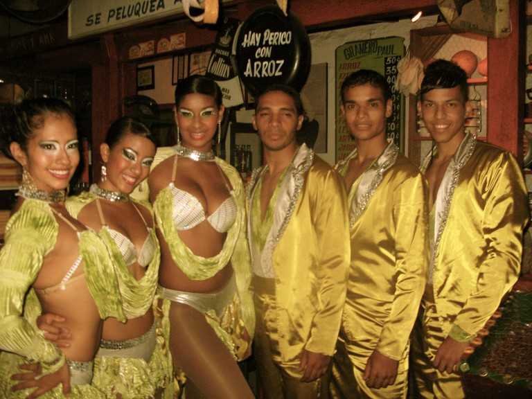 Salsa group – Tienda Vieja, Cali Colombia