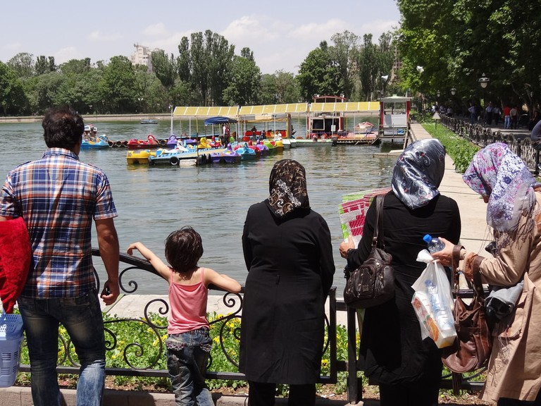 Iranian families are close-knit