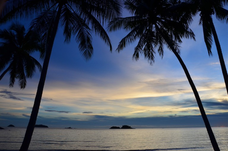 Sunset on Koh Chang