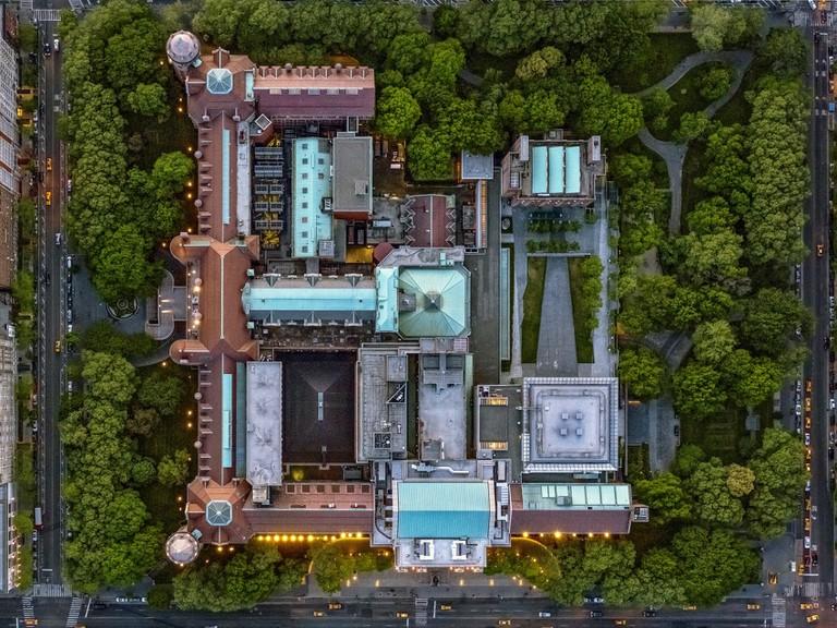 LA NY, New York: American Museum of Natural History