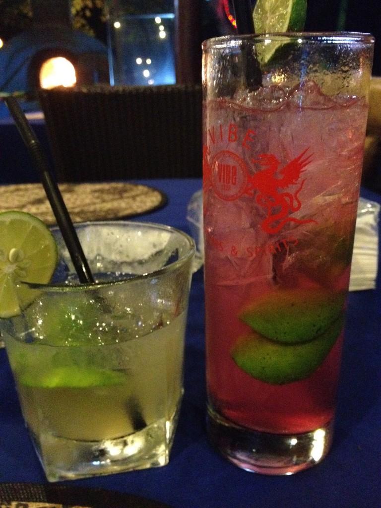 Various Arak-based drinks