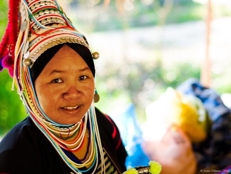 Akha woman, Chiang Mai