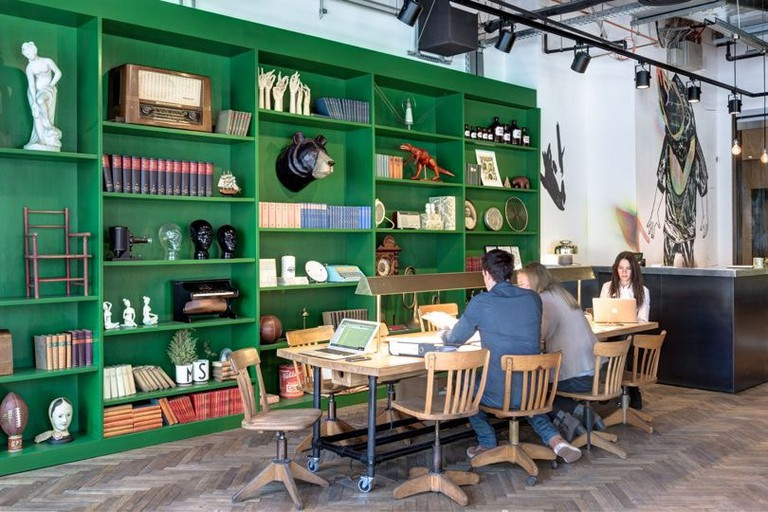 Mindspace, a co-working space located in Berlin's Mitte district