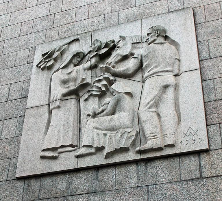 Mural in Helsinki