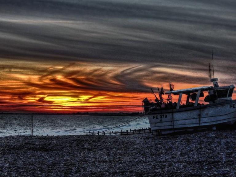 Hythe Sunset