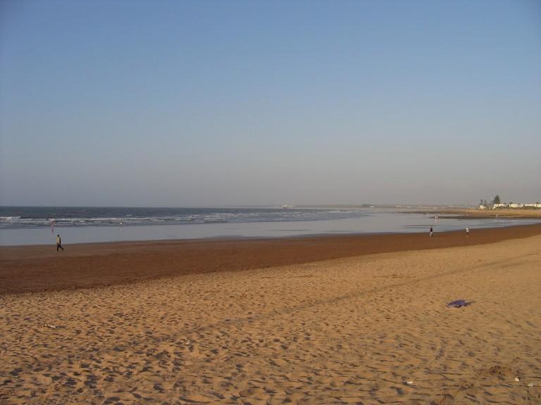 Beach at El Jadida, Morocco