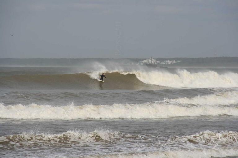 Surfing in El Jadida