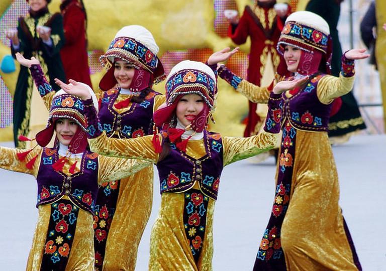 Dancers in Astana