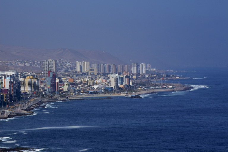 The coast and Antofagasta