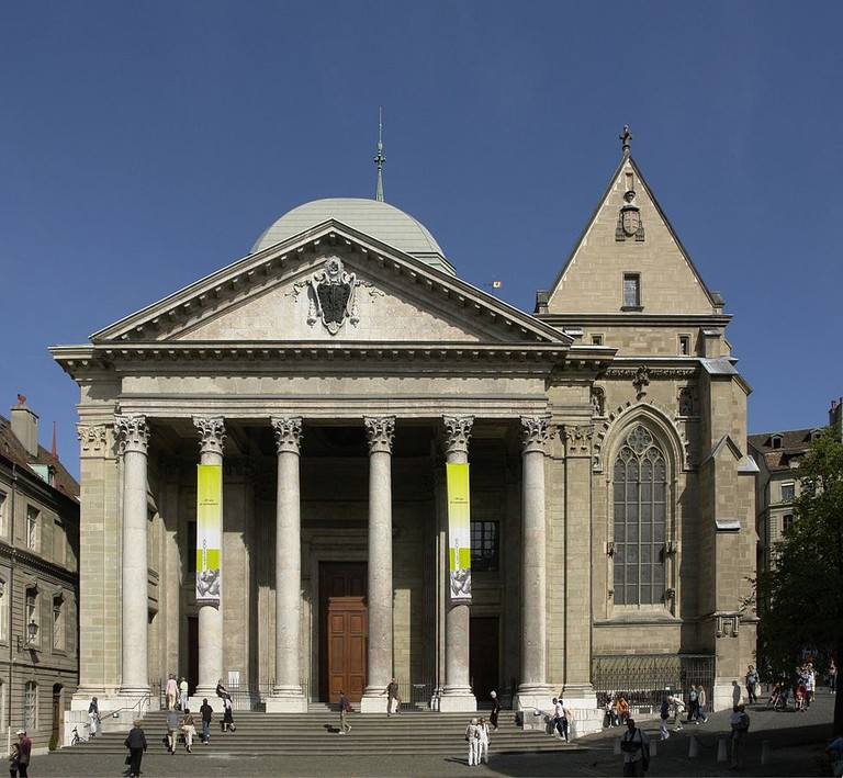 St. Pierre Cathedral, Geneva.