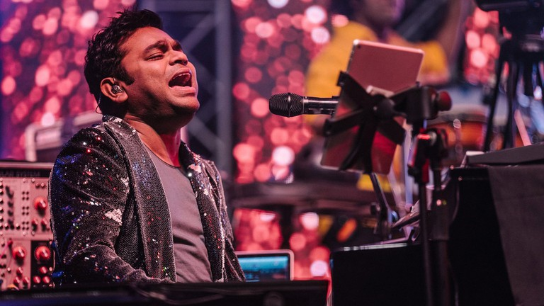 A R Rahman at NH7 Weekender in 2015